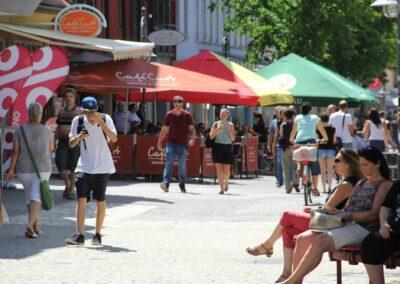 Living Lab Innenstadt  – Fußgängerzone online