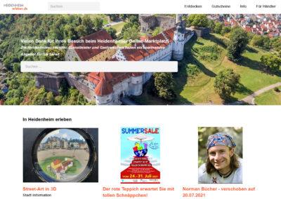 Lokaler Online-Marktplatz